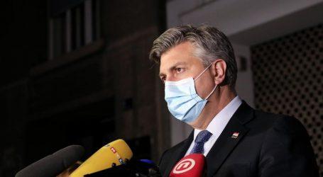 Plenković održava online sastanak sa županima