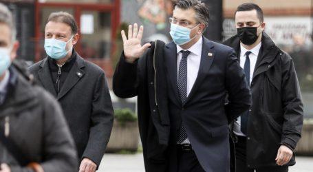 """Plenković nakon mise: """"Mjere su se poštovale, ovdje smo zbog jedne simbolične poruke"""""""