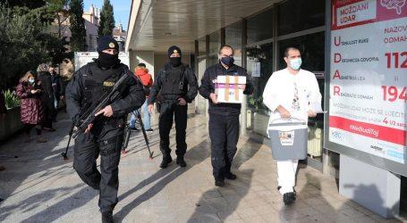 Civilna zaštita i policija isporučili cjepivo po županijama