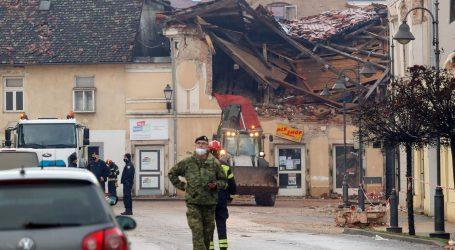 Preko 800 vatrogasca sanira posljedice potresa u Sisačko-moslavačkoj županiji