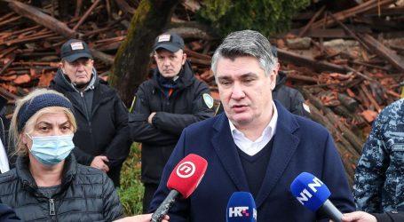 """Milanović: """"Građani su očajni i preplašeni, ljudi u Petrinji se osjećaju ostavljenima"""""""