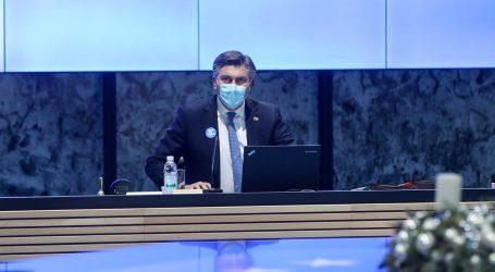 """Plenković: """"Cilj je cijepiti najmanje 70 posto građana"""""""