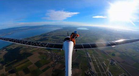 Raphael Domjan želi svojim solarnim zrakoplovom u stratosferu