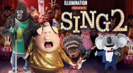 """Bono Vox, P. Williams i Halsey u nastavku animiranog hita """"Pjevajte s nama 2"""""""