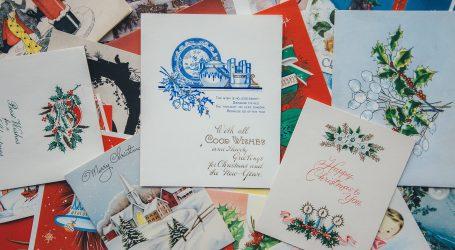 Prodaje se prva božićna čestitka, procijenjena je na 25 tisuća dolara