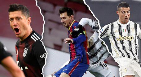 Borba za nagradu 'The Best': Lewandowski, Messi ili Ronaldo?
