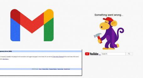 Vratili se Google servisi – korisnici pola sata bili bez Gmaila i YouTubea
