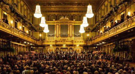 Novogodišnji koncert Bečke filharmonije bez publike, ali s virtualnim pljeskom