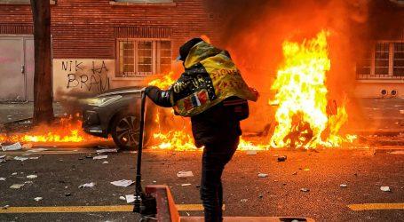 Francuska: Više od 60 uhićenih, nasilni prosvjedi diljem zemlje
