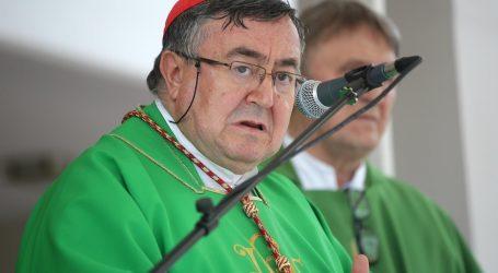 Kardinal Puljić hospitaliziran, obolio od Covida