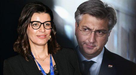 EKSKLUZIVNO: SMS iz mobitela Josipe Rimac otkriva zašto će ona premijera Plenkovića predložiti za svjedoka u procesu u aferi Vjetroelektrane
