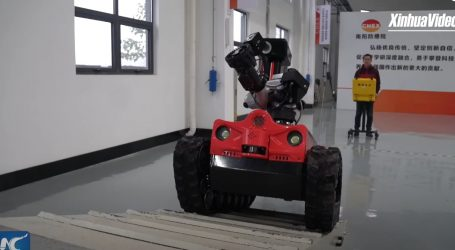 Vatrogasni roboti su iznimno korisna pomoć u gašenju velikih požara