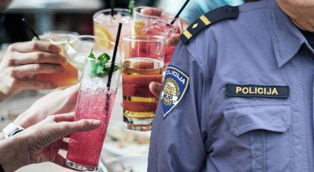 Raspašoj u Splitu: Policija upala na dvije zabave, na jednoj više od 30 osoba, u studentskom domu tulumarilo 28 osoba