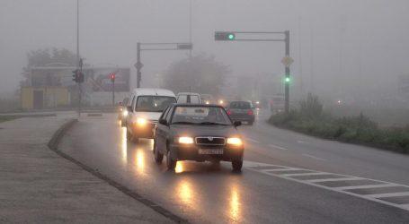 Kolnici mokri, ceste otvorene