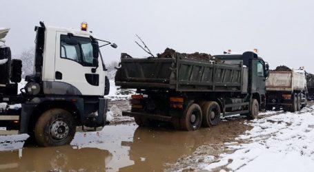 Hrvatska vojska nastavlja pomagati postradalima u potresu