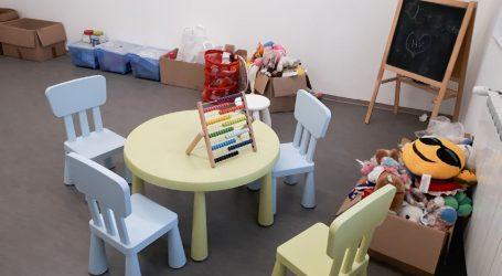 U vojarni u Petrinji organizirana dječja igraonica