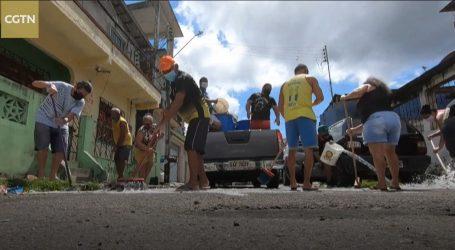 Brazil: U Manausu građani sami čistili ulice jer komunalci ne stižu