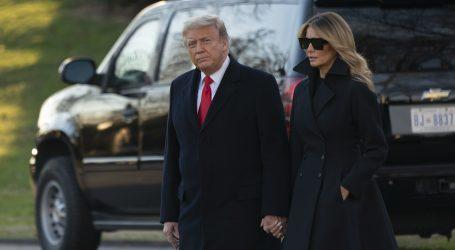 """Melanija Trump """"razočarana"""" nasiljem na Capitolu, no o ulozu supruga ni riječi"""