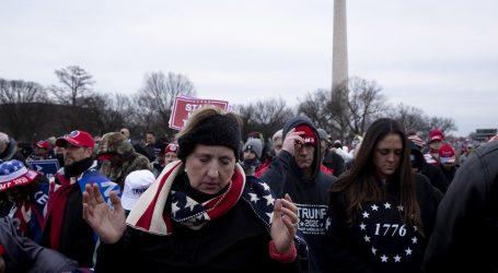 Trump zapovijedio Nacionalnoj gardi da zaustavi prosvjednike na Capitolu