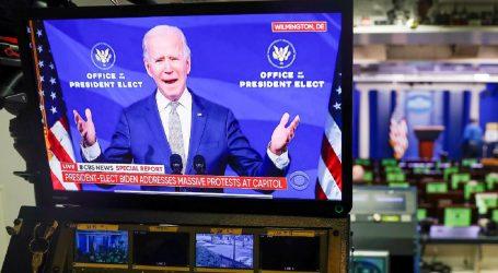"""Biden: """"Kaos u Kongresu graniči s pobunom i mora odmah stati"""""""