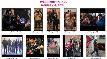 FBI objavio fotografiju osumnjičenog za ubojstvo policajca na Kapitolu