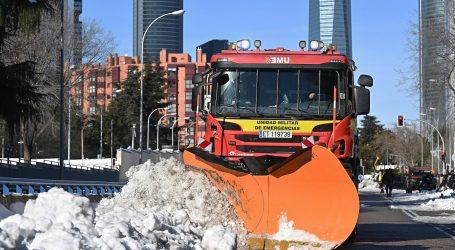 U Madridu šteta 1,4 milijarde eura zbog snijega