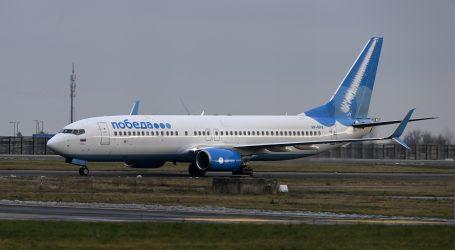 Zrakoplov u kojem je Navaljni sletio u Moskvu