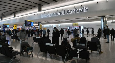 Sve stroža pravila: Švicarska uvodi negativan test, a Britanija karantenu za putnike iz rizičnih zemalja