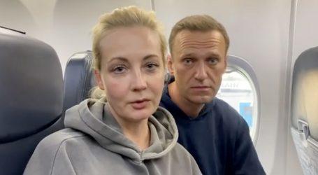 U moskovskoj zračnoj luci uhićeni suradnici Alekseja Navaljnog