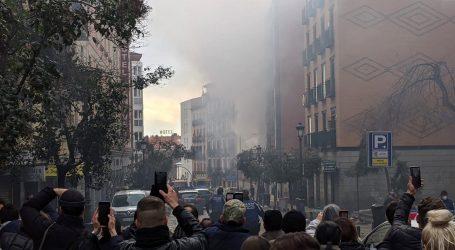 Najmanje dvoje poginulih u eksploziji plina koja je srušila zgradu u središtu Madrida