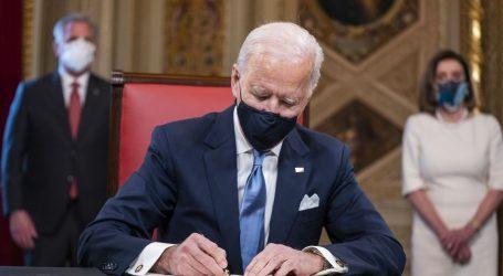 Biden prvog dana u Ovalnom uredu potpisao 15 izvršnih uredbi, vraća SAD u Pariški klimatski sporazum