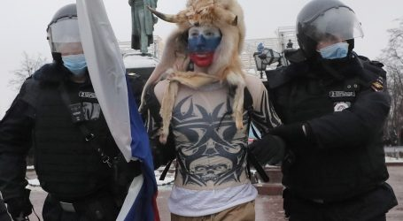 Ruska policija privela više od 250 prosvjednika
