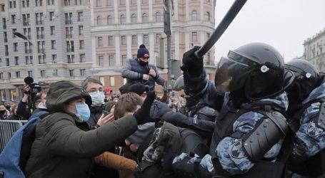 Najveći prosvjedi u eri Vladimira Putina: Više od 3400 uhićenih diljem Rusije