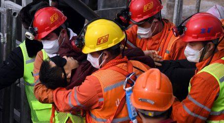 Kina: Od 22 rudara koja su ostali zatočeni na dnu rudnika zlata, deset ih je poginulo