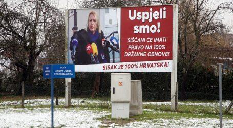 """HDZ: """"Najavom da će platiti plakate SDP pokušava kontrolirati štetu"""""""
