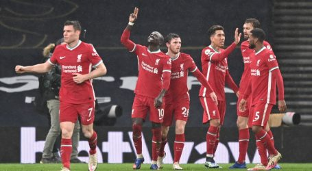 Liverpool prekinuo 'crni niz' – slavili na gostovanju kod Tottenhama