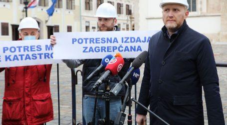 """Petek: """"Zakon o obnovi dogovor je između Plenkovića i Bandića, a to je štetno za Zagreb"""""""