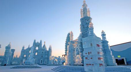 Festival ledenih skulptura u Harbinu privremeno je zatvoren, ali i dalje je velika atrakcija