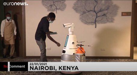 Japanski roboti stigli u Keniju kao pomoć u suzbijanju pandemije