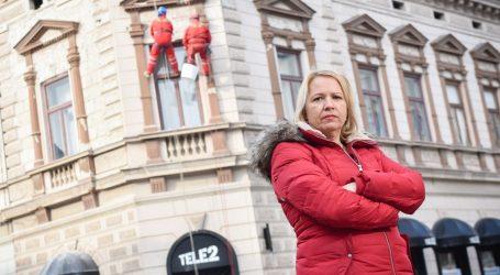 """Kristina Ikić Baniček: """"Biste li vi željeli da vam sredstvima koja vam država pošalje za obnovu upravlja Ivo Žinić?"""""""