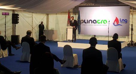 """Ministar Ćorić na otvaranju LNG terminala: """"Ovaj je projekt odolio svim političkim i društvenim izazovima"""""""