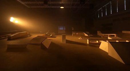 'Opasan' skatepark Labirint ima pomične prepreke i viseću konstrukciju