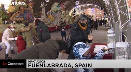 U Španjolskoj su Sveta tri kralja proslavili manjim svečanostima