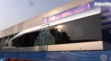 Predstavljen 'maglev', novi model magnetno levitacijskog vlaka