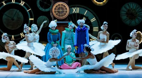 Posljednja izvedba 'Orašara' u HNK Ivana pl. Zajca uz debi balerine Mao Fujite