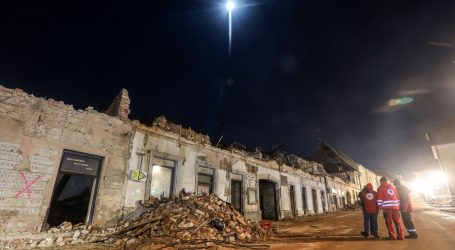 EMSC: Dva umjerena potresa u blizini Petrinje i Siska