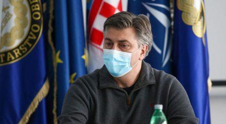 """Plenković u Petrinji: """"Ako nešto nije bilo napravljeno kako treba, utvrdit će se tko je doveo do toga"""""""
