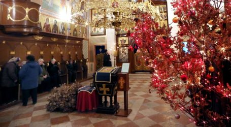 HZJZ objavio preporuke za mise na pravoslavni Badnjak i Božić