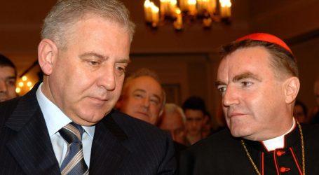 MORALNI BANKROT KAPTOLA: Još samo Katolička crkva brani uhićenog Sanadera