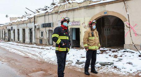 Smanjen angažman vatrogasaca na području Banije zbog vremenskih uvjeta